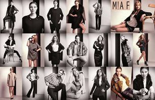 MIA F make-up by Francesco Riva